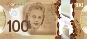 Viola Desmond on the $10 bill